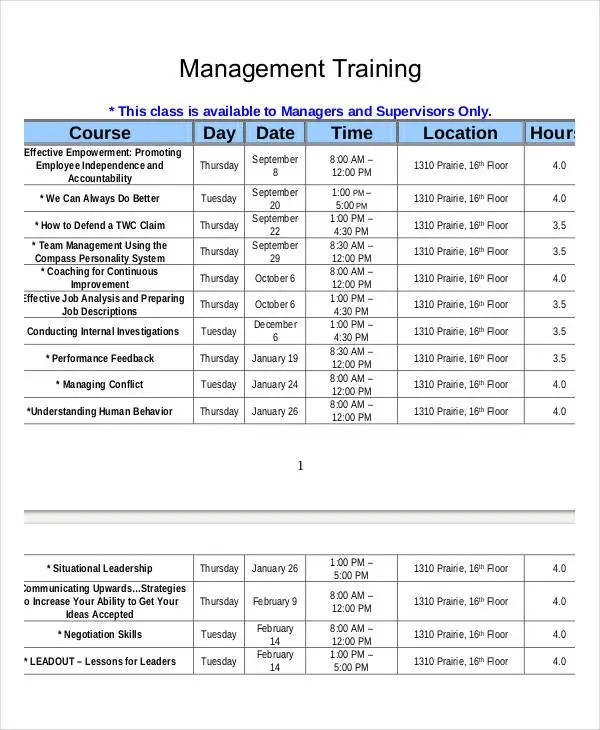 employee training calendar template - Ozilalmanoof