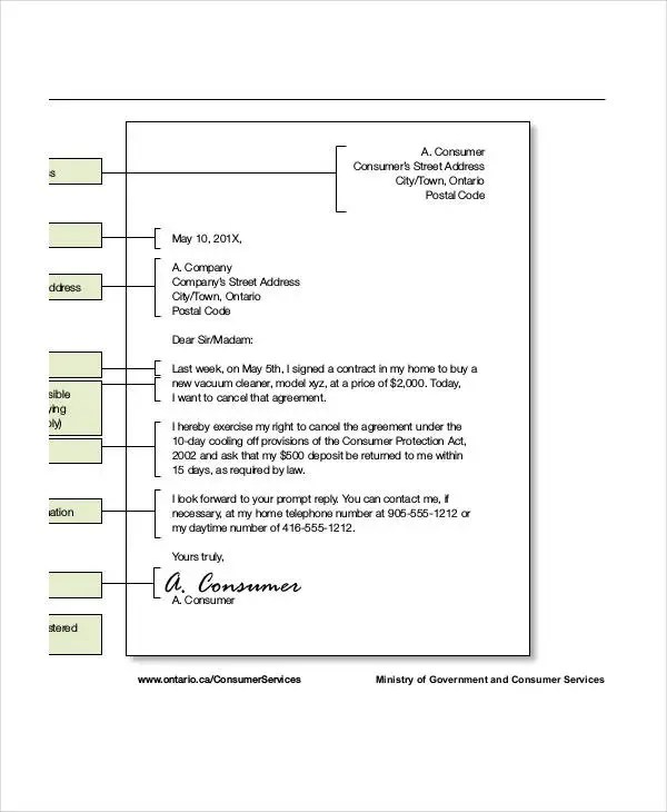 Agreement Letter Template - 7+ Free Sample, Example, Format Download