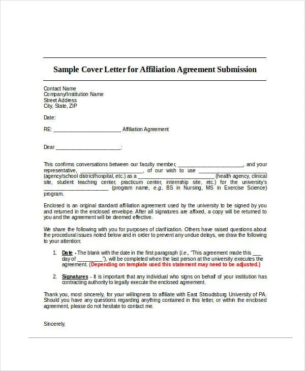 Agreement Letter Templates - 11+ Free Sample, Example, Format - agreement letter examples