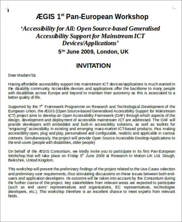 7+ Workshop Invitation Templates - Free Editable PSD, AI, Vector EPS