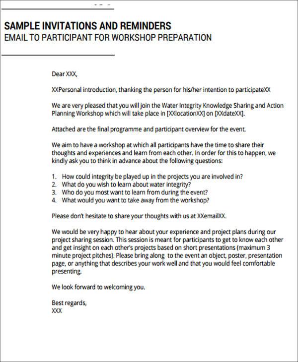 9+ Workshop Invitation Templates - Free Editable PSD, AI, Vector EPS