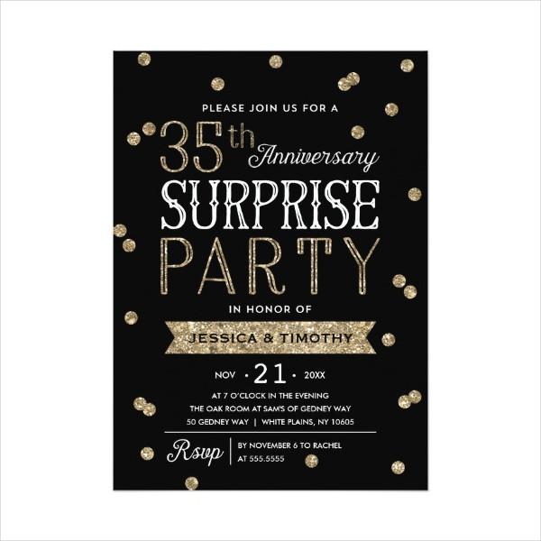 8+ Surprise Invitation Templates - Free Editable PSD, AI, Vector EPS