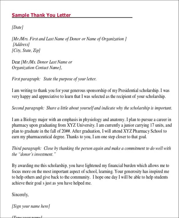 8+ Student Letter Templates - 8+ Free Sample, Example Format