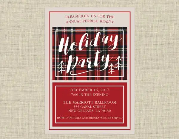 10+ Office Party Invitations - PSD, AI, Word Free  Premium Templates