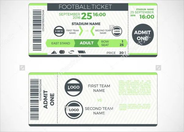 make tickets template