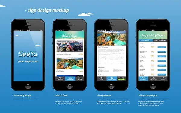 9+ App Design Mockup Templates Free  Premium Templates