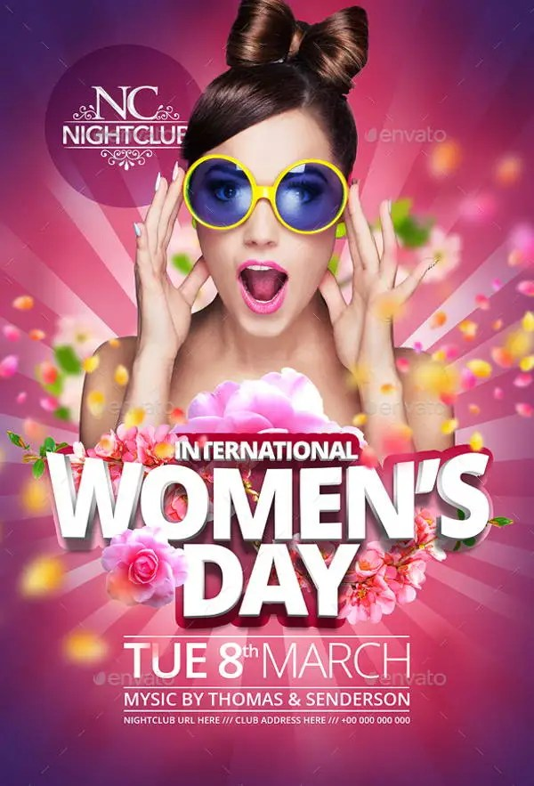 9+ Women\u0027s Day Flyers - Free PSD, AI, EPS Format Download! Free