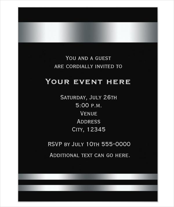 corporate dinner invitation wording - Acurlunamedia