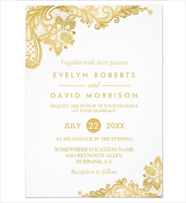 Invitation Format Free  Premium Templates - invitation formats
