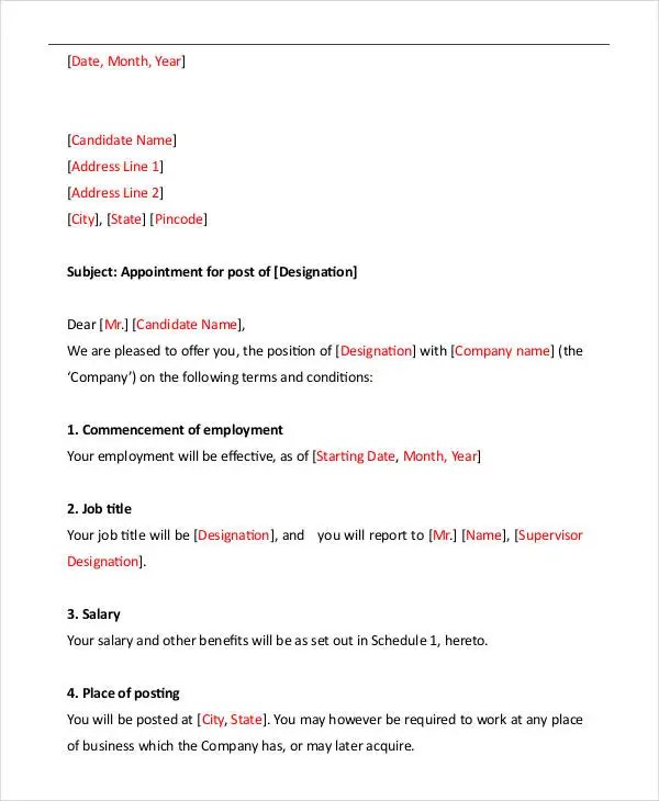 Letter Format - 46+ Free Word, PDF Documents Download Free