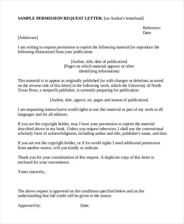 business request letter format