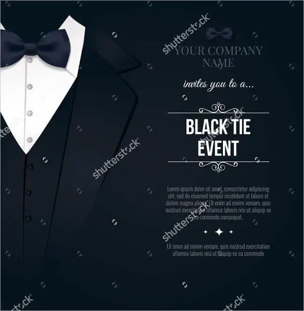 Corporate Event Invitations - 7+ Design, Sample, Example, Template - invitation event sample