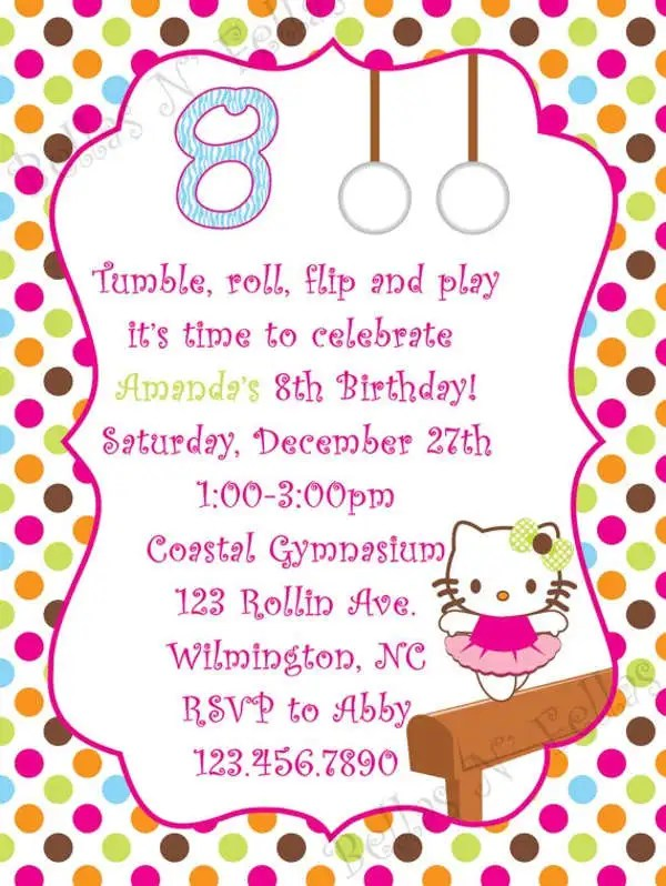 16+ Kitty Party Invitation Designs  Templates - PSD, AI, Word