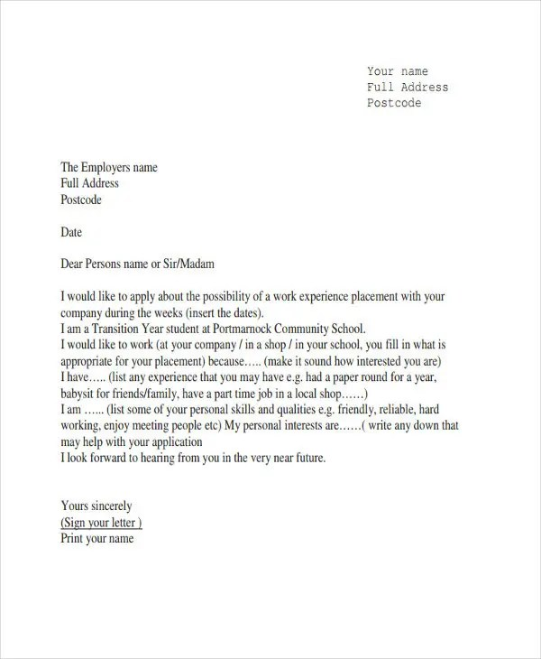 12+ Experience Letter Templates - PDF, DOC Free  Premium Templates - letter templates