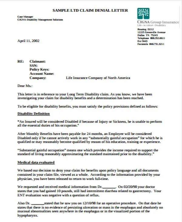 Claim Letter Template - 12+ Free Sample, Example Format Download - claim template letter
