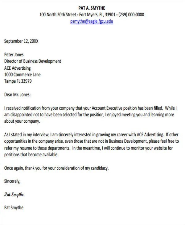 18+ Response Letter Template - Free Sample, Example Format Download