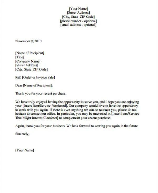 Follow Up Letter Template - 9+ Free Sample, Example Format Download - Follow Up Letters