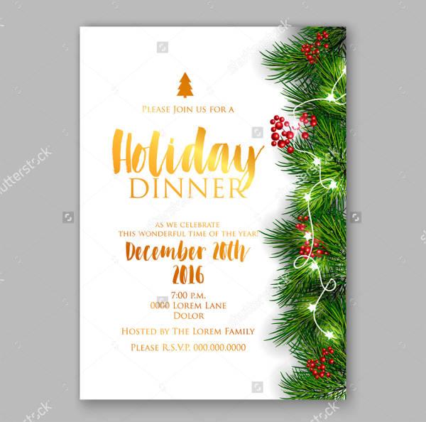 company christmas invitations templates