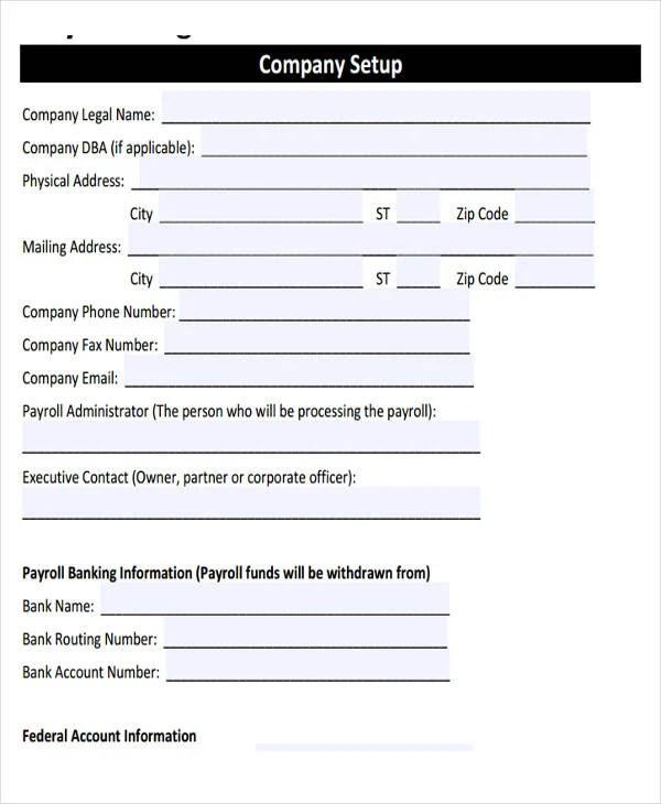 Employee Payroll Templates Free  Premium Templates