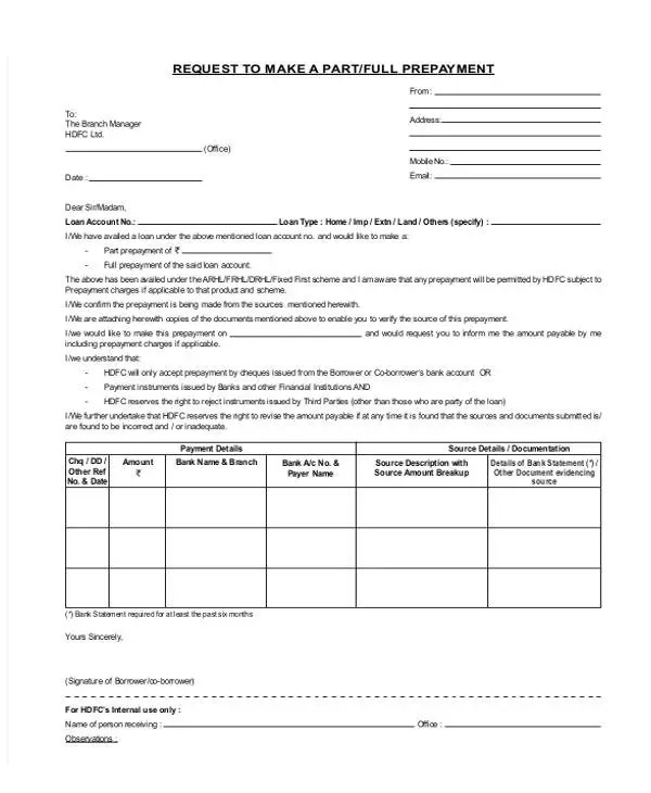 Loan Letter Templates - 9+ Free Sample, Example Format Download