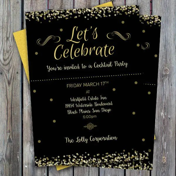 43+ Sample Invitations Free  Premium Templates - business dinner invitation sample