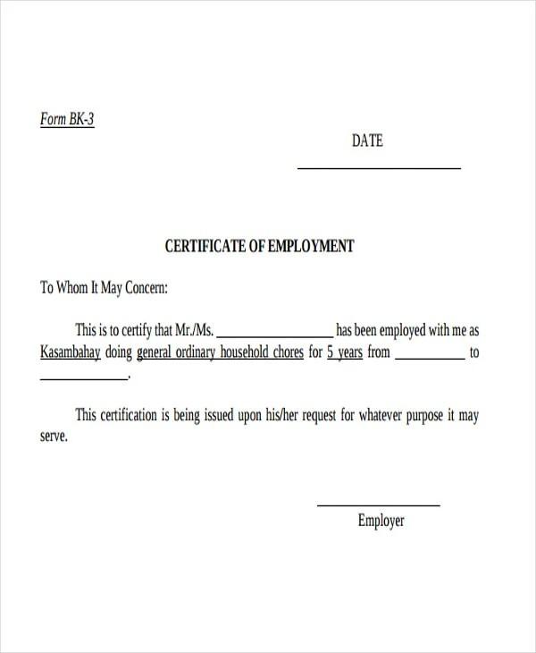 12+ Certificate Letter Templates - PDF, DOC Free  Premium Templates