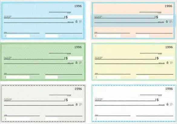 26+ Blank Check Template - DOC, PSD, PDF  Vector Formats Free - blank cheque template