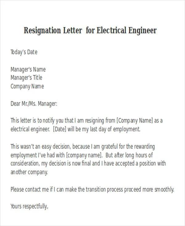 Resignation Letter Samples Download Pdf Doc Format 38 Resignation Letter Format Free And Premium Templates