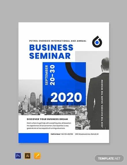 9+ Business Poster Templates - PSD, Vector, EPS, InDesign File