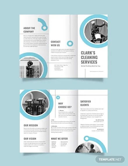 10+ Cleaning Company Brochures Templates - AI, PSD, DOCS, Pages