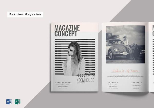 magazine design templates free download