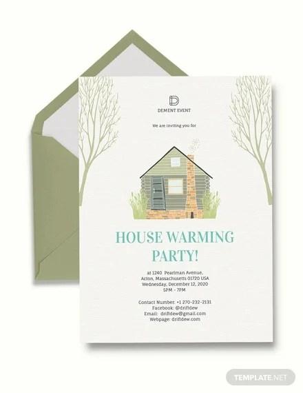 23+ Housewarming Invitation Templates - PSD, AI Free  Premium