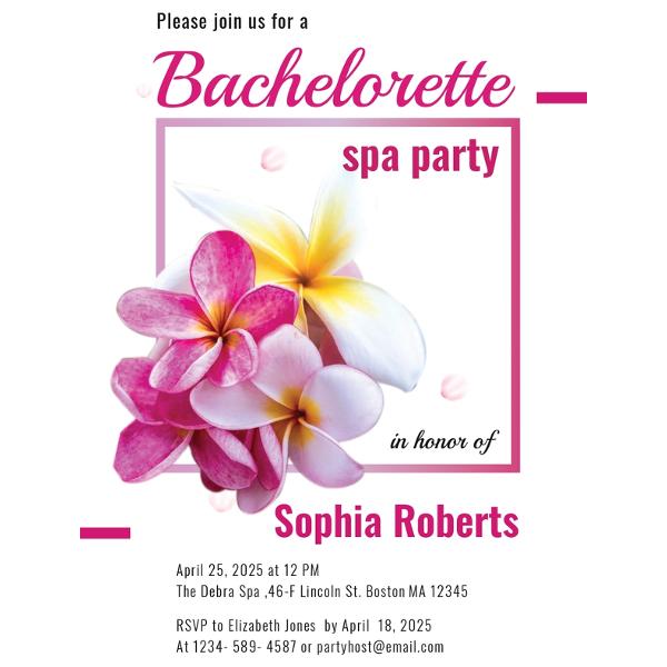 bachelorette invitations template - Bire1andwap