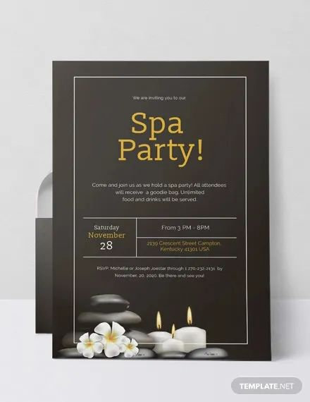 invitation template word free