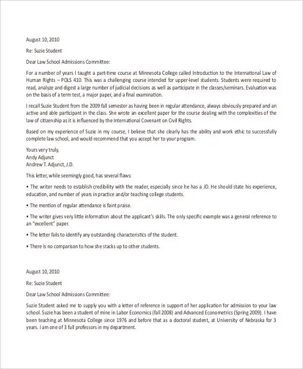 40+ Recommendation Letter Templates in PDF Free  Premium Templates