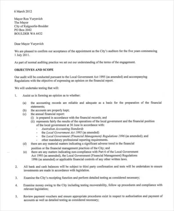 Appointment Letters - 18+ Free Word, PDF Documents Download Free