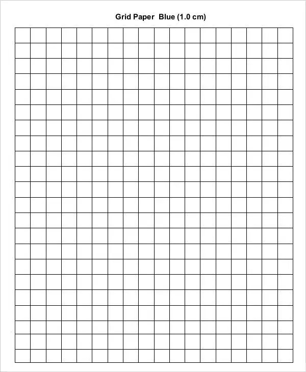 Half Inch Graph Paper Template Engineering Graph Paper Template
