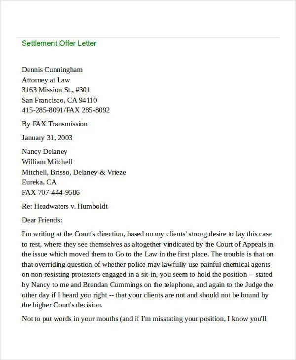 Offer Letter Templates in Doc - 50+ Free Word, PDF Documents