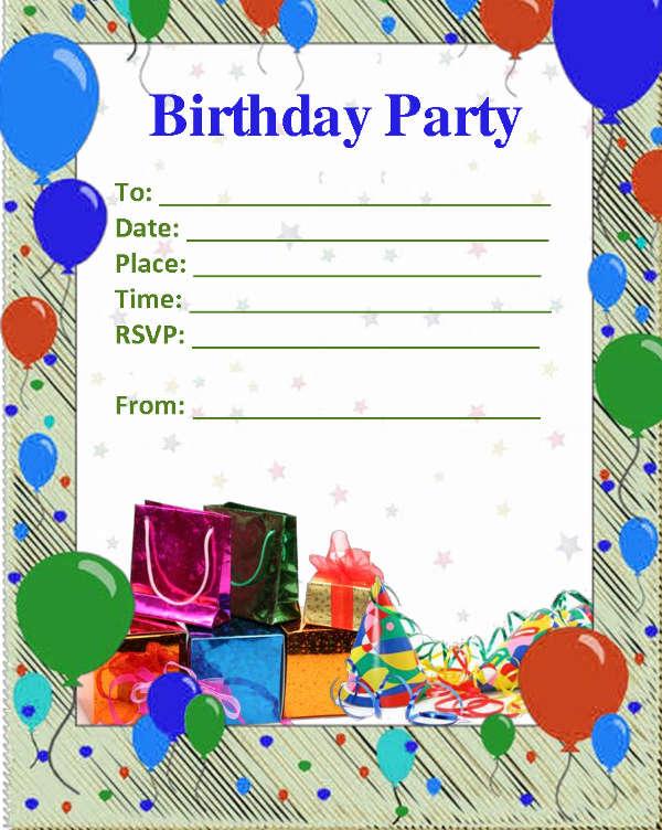 52+ Birthday Invitation Templates - PSD, AI Free  Premium Templates
