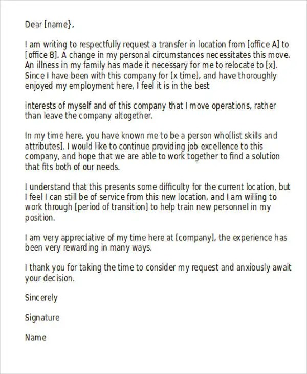 51+ Formal Letter Format Template Free \ Premium Templates - formal request letter