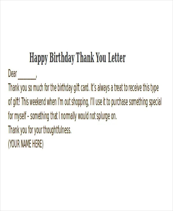 Thank-You Letter Format Free  Premium Templates - thank you letter format