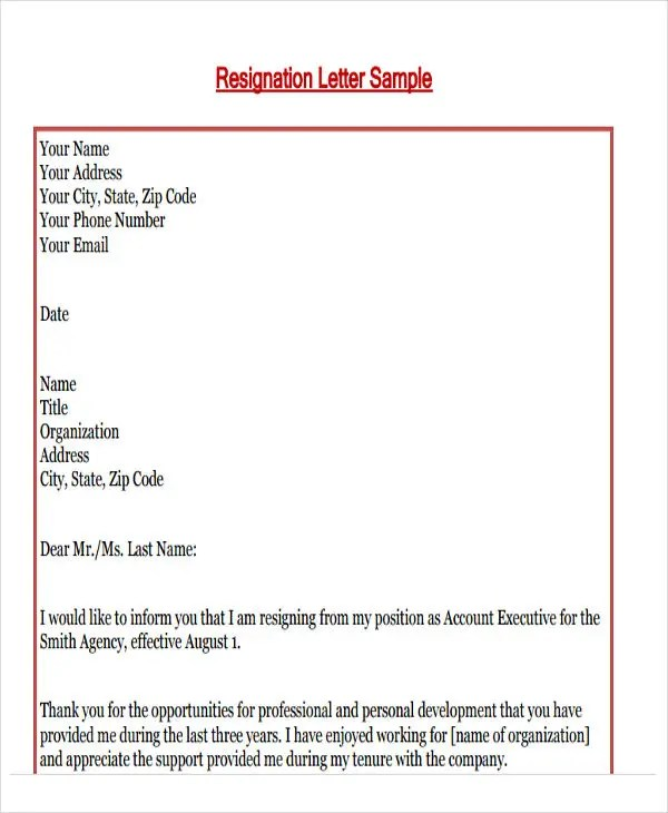 55+ Formal Letter Examples Free  Premium Templates - formal letters example