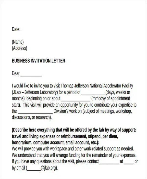 47+ Formal Letter Examples - PDF, Word Free  Premium Templates
