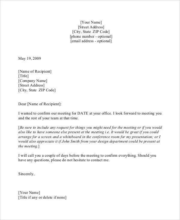 Conference Call Confirmation Email Template Image collections - sample confirmation email
