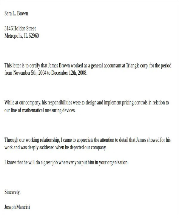 51+ Formal Letter Format Template Free  Premium Templates