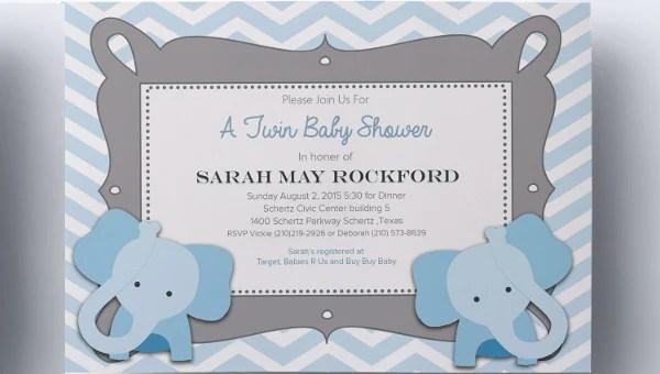 63+ Unique Baby Shower Invitations - Word, PSD, AI Free  Premium