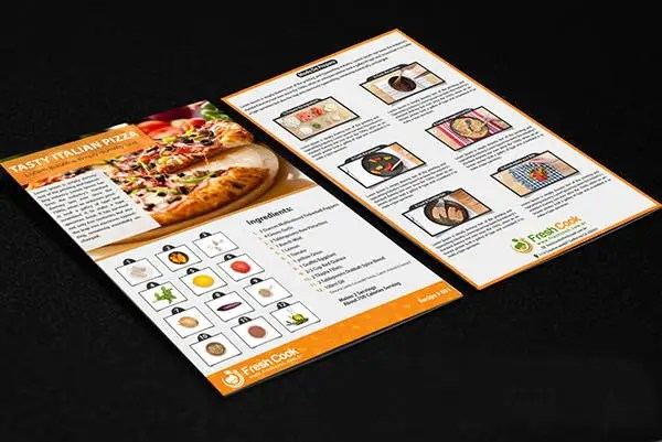 11+ Double Sided Flyer Templates Free  Premium Templates - double sided brochure templates