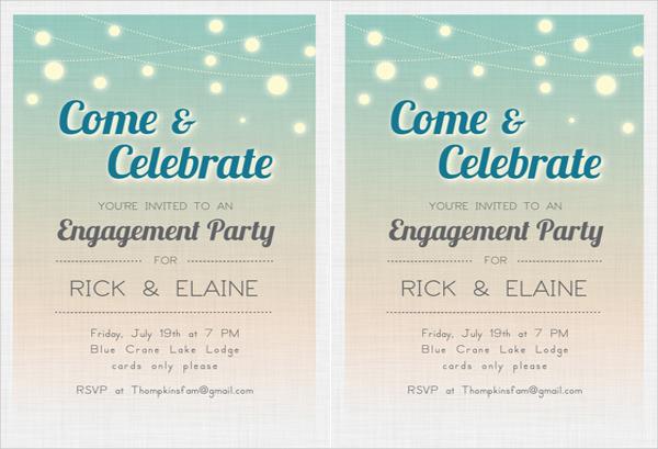 43+ Engagement Invitation Designs - PSD, AI, Vector EPS Free