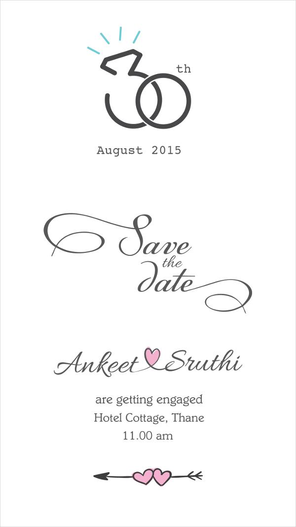 47+ Engagement Invitation Designs Free  Premium Templates