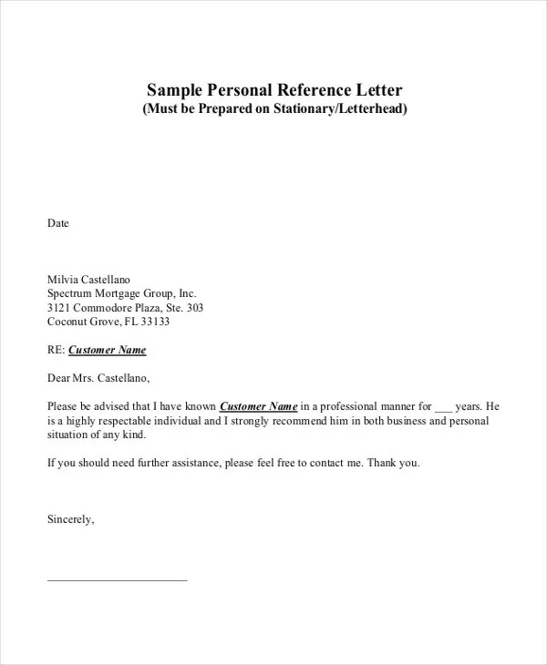 i need a recommendation letter - Josemulinohouse - customer reference letter